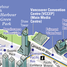 custom Vancouver map